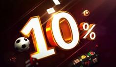 188BET 10% 매일충전 첫입금 보너스